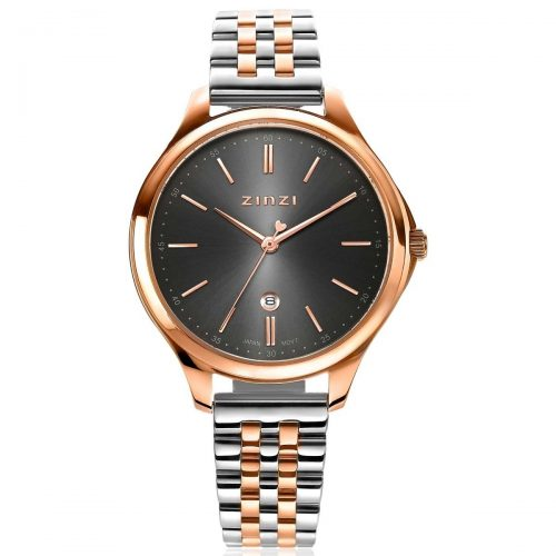 ZINZI Classy horloge rose-zwart ZIW1027