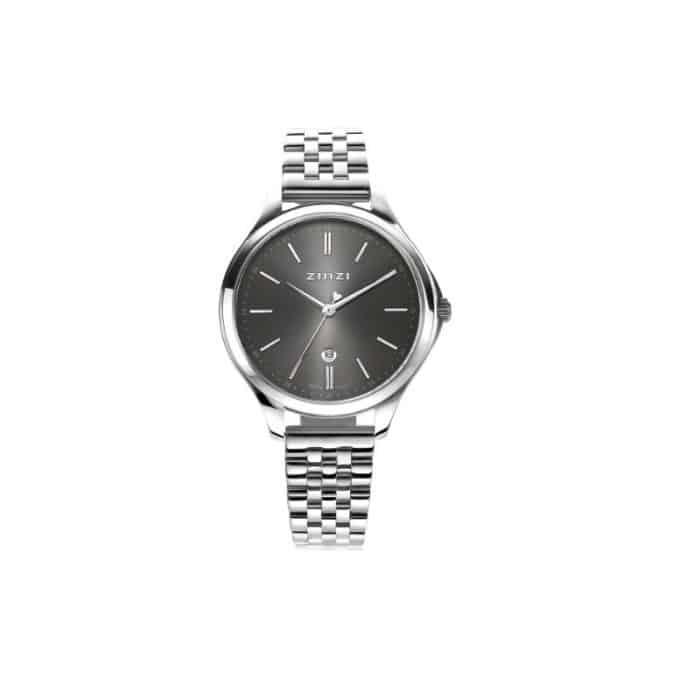 ZINZI Classy horloge zilver ZIW1024