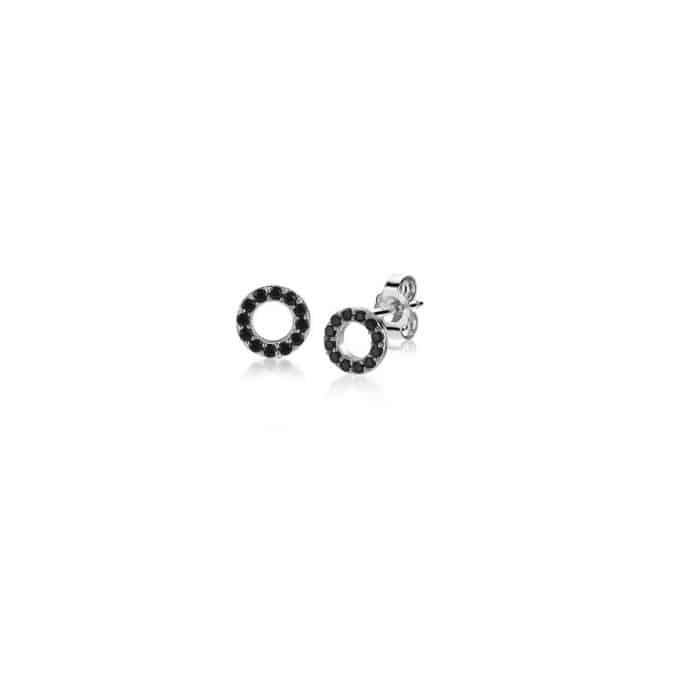 Zinzi oorknoppen zwart ZIO1063Z