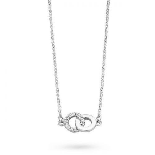 Rosa di Luca zilveren hanger ringen