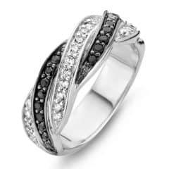 Rosa di Luca ring zwart