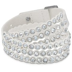 Swarovski Power wit armband